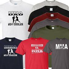 MMA Camiseta Papá Grandad de advertencia o MMA