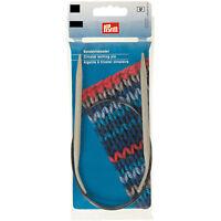 Prym Circular Knitting Needles round Aluminium Alloy Gray all Sizes