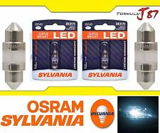 Sylvania ZEVO LED light De3175 White 6000K Two Bulbs Dome Step Map Trunk Cargo