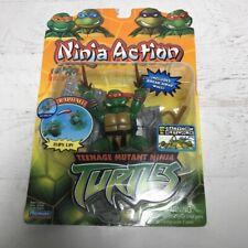 TMNT Playmates Ninja Action Raphael Sealed New 2004 Vintage Teenage Mutant