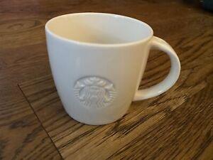 STARBUCKS GRANDE COFFEE MUG 2010 EMBOSSED MERMAID SIREN VERY GOOD CONDITION
