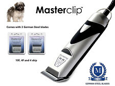 Lhasa Apso Lhasa Poo Dog Clippers Trimmer Set with 3 Steel Blades by Masterclip