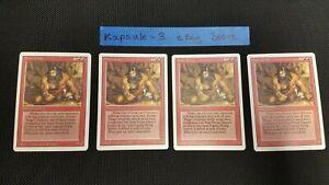 4x Stone Giant | Revised | MTG Magic The Gathering Cards