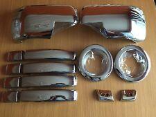 Chrome Set Pour Range Rover Sport 2005-2009 Poignées Brouillard Complet Wing Mirror Covers