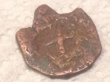 King Phillip IV 1600's-RX countermarked Spanish Coin-Look@ scan >37
