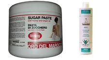 Pasta di Zucchero Depilazione araba 500gr+Precera universale 500ml Arcocere
