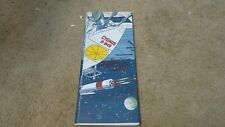 Vintage Space Travel Moon Party Table Cloth Boys Girls Birthday Solar Paper