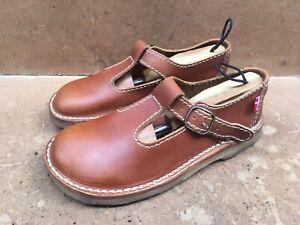 Duckfeet Lolland Women's Brown Leather Mary Jane Size EUR 40 || USA 9.5 ||6.5
