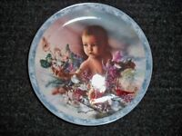 "COLLECTORS PLATE "" PRECIOUS GIFT"" FROM HEAVEN SENT  BRADFORD EXCHANGE"