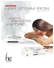 HG PIASTRA A VAPORE HAIR STEAM IRON + FLUIDO ARGAN