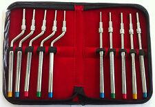 10 Sinus Osteotomes set Implant Dental Instruments Bone Grafting Elevators