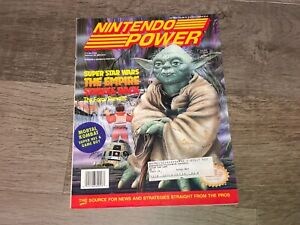 Nintendo Power Volume 53 Guide Book Super Star Wars Empire w/Poster & Cards