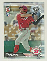 2019 Topps Bowman Holiday #TH-NC NICK SENZEL RC Rookie Cincinnati Reds