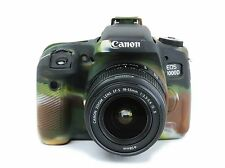 Camera silicone cover for Canon EOS 760D(EOS REBEL T6S)  Camouflage