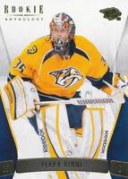 Pekka Rinne 2011-12 Panini Rookie Anthology #72 Predators Card