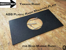 """Yamaha Rhino Abs Plastic Center Dash Plate For Mounting 3"""" Ster 00002000 eo And Switches"""