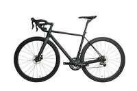 54 AERO Carbon Frame Road Bike 700C Alloy Wheel Clincher Disc Brake UD Matt