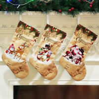 Christmas Stockings Cloth Small Boots Gift Bags Ornaments Party Home Decorations