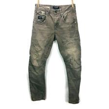 Jack & Jones Mens Stan Osaka Jeans Charcoal Grey Anti-Fit Core Workwear Sz 29x32