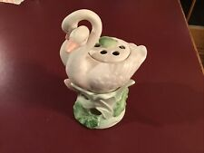 Vintage Fitz and Floyd Double Swan Potpourri Stand Japan 1987 Perfect