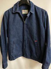 Original Levi's Sta-Prest® Harrington/Bomber 71525 04 65 L Indigo Denim Jacket