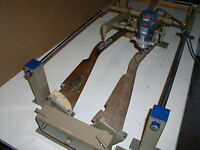 *Gunstock Blank Carving Duplicator- Model with Carbide Cutters