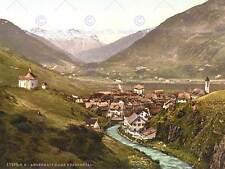 PHOTOGRAPH URSERN VALLEY ANDERMATT RIVER SWITZERLAND FINE ART PRINT CC1510