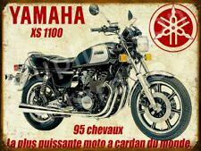 Plaque metal vintage Yamaha 1100 xs