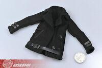 "1/6 Scale Female Black Jacket Coat Clothing Props Fit 12"" Action Figure Body"