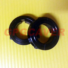 "BLACK Rear Axle Shaft set lock Collar 1 1/4"" bore Go Kart bar stool cart racing"
