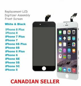 For iPhone 5, 6, 7, 8, X, XR and Plus LCD Screen Digitizer Replacement BEST DEAL
