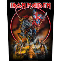 Iron Maiden Maiden England Jacket Back Patch Official Heavy Metal New
