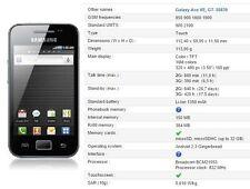 Nuevo Samsung Galaxy Ace Gt-s5839i Negro 3g Cámara Desbloqueado Teléfono Inteligente