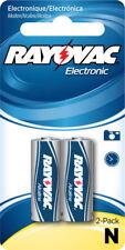 Rayovac KE810 N Size Alkaline Battery Mercury Free 2 Pack KE810-2ZM