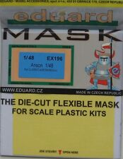 Eduard 1/48 EX196 Canopy Mask for the Classic Airframes Avro Anson kit
