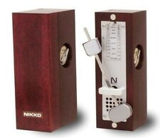 NIKKO Wooden mini WINE 332 Pendulum Metronome Made in Japan