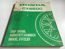 Werkstatthandbuch / Nachtragshandbuch CX 650 C -(D) (1983) (RC11)