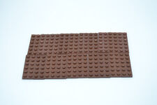 3795-Plaque Brown Lego ® 10x Plaque-Bauplatte 2x6 Reddish Marron
