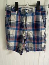 NWOT TCP The Children's Place Plaid Boys Shorts Size 6
