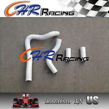 FOR Honda CR250 CR250R CR 250 R 1992-1996 1993 1995 silicone radiator HOSE WHITE