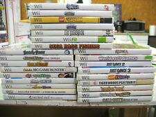 LOT OF 25 NINTENDO WII VIDEO GAMES - See Photo for Titles!