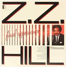 Final appearance ZZ Hill Vinyle Record