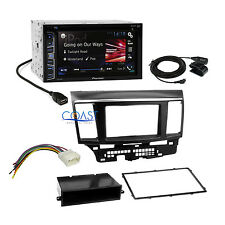 Pioneer Car Radio Stereo DDin Dash Kit Harness for 2007-13 Mitsubishi Lancer