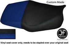 Royal blue & Negro Vinilo personalizado para Honda CBR 600 F Dual 91-96 Cubierta de asiento solamente