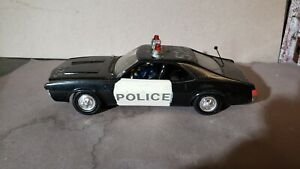 Revell 1968 AMC Javelin 1:32 scale police car BUILT builtup 68 slot car