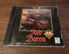 RED BARON & A-10 TANK KILLER MS-DOS 5.0 + CD-ROM SIERRA ORIGINALS