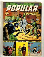 Popular Comics # 96 FN- Golden Age Dell Comic Book Dick Tracy Terry Annie NE4