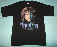VTG 1990s JIM MORRISON LIZARD KING T SHIRT 90s MENS LARGE L THE DOORS BLACK NICE