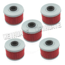 5pcs Oil Filter For Honda 450 TRX450ES TRX450S Foreman ES S 1998 1999 2000 01 02