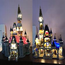 USB LED Light Set Fit To LEGO Disney Castle 71040 Modular Building Block Gift